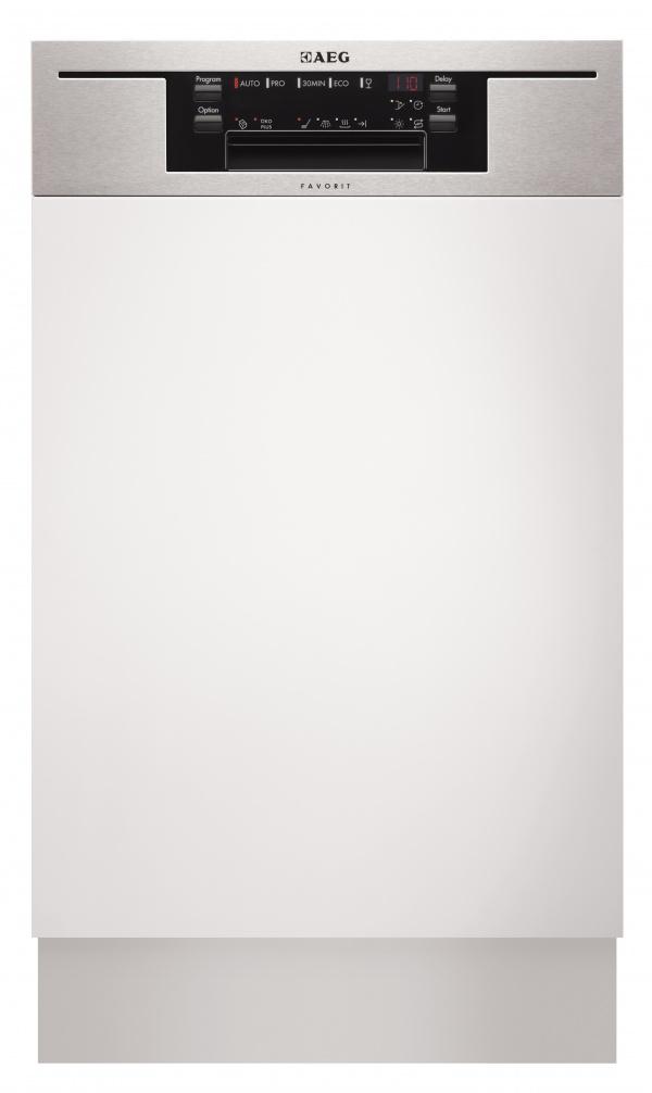 AEG 9-10 terítékes beépíthető mosogatógép