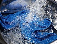 mosás mosógéppel
