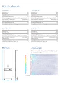 UV-C FiltAir légsterilizáló készülékcsalád