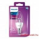 Philips PHILIPS Consumer LED candle 5.5-40W B35 E14 827 CL ND E14 Gyertyaégő