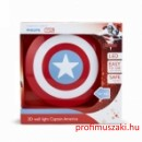 Philips 3D Masks - Marvel Captain America 71940/32/P0 Gyerekszoba lámpa