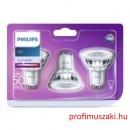 Philips Consumer LEDClassic spot 4.6-50W GU10 840 36D ND SRP 3 set GU10 Spot tű foglalat