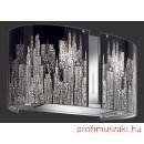 Falmec MANHATTAN üveg (Round 67 fali) Mirabilia páraelszívókhoz Dekorlap