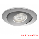Philips Asterope recessed aluminium 1x4.5W SELV 59180/48/16 Spot lámpa