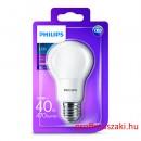 Philips PHILIPS Consumer LED bulb 5.5-40W A60 E27 827 FR ND E27 Körteégő
