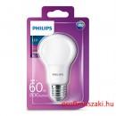 Philips PHILIPS Consumer LED bulb 8-60W A60 E27 827 FR ND E27 Körteégő