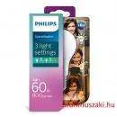 Philips PHILIPS Consumer LED bulb 8-60W A60 E27 827 FR ND SceneSwitch E27 Körteégő