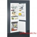 Whirlpool ART6711SF2 Beépíthető kombinált alul fagyasztós hűtő