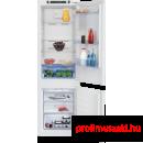Beko BCNA275E21S Beépíthető kombinált alul fagyasztós hűtő