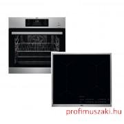 AEG BEB351110M+IKB64431XB Beépíthető sütő és indukciós főzőlap szett