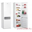 Whirlpool BSNF 8122 W Kombinált alulfagyasztós hűtőszekrény