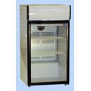 Coldmatic CG165GVLB Ipari üvegajtós hűtőszekrény