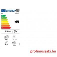 Beko DIN28431 Beépíthető 12-15 terítékes mosogatógép