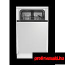 Beko DIS25010 Beépíthető 9-10 terítékes mosogatógép
