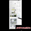 Electrolux ENN2800BOW Beépíthető kombinált alul fagyasztós hűtő
