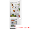Electrolux ENN2852ACW Beépíthető kombinált alul fagyasztós hűtő