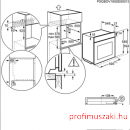 Electrolux EOB5454AOX Beépíthető villany sütő