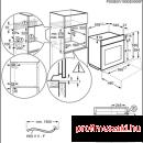 Electrolux EOB9956XAX Beépíthető villany sütő