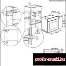 Electrolux EOC5654TAX Beépíthető villany sütő
