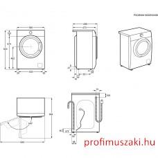 Electrolux EW6S327S Elöltöltős mosógép