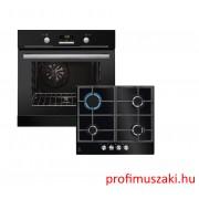 Electrolux EZB3430AOK + KGG6426K Beépíthető sütő és gáz főzőlap szett
