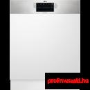 AEG FEE53670ZM Beépíthető 12-15 terítékes mosogatógép