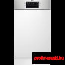 AEG FEE73517PM Beépíthető 9-10 terítékes mosogatógép