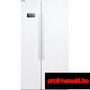 Beko GN163120 Side by Side hűtőszekrény