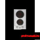 Beko HDCE32201X Dominó vasmagos beépíthető főzőlap