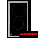 Beko HDMC32400TX Dominó kerámia beépíthető főzőlap