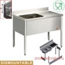 Diamond L1210D/6-KD Ipari rozsdamentes bútorok