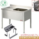 Diamond L1210S/6-KD Ipari rozsdamentes bútorok