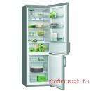 Gorenje RK6191AX Kombinált alulfagyasztós hűtőszekrény