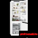 AEG SCE81816TS Beépíthető kombinált alul fagyasztós hűtő