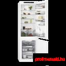 AEG SCE818E6TS Beépíthető kombinált alul fagyasztós hűtő