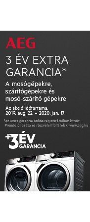 AEG garancia 3 év