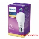 Philips PHILIPS Consumer LEDCLassic bulb 8.5-75W A60 E27 827 FR ND E27 Körteégő