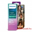 Philips PHILIPS Consumer LED candle 5.5-40W E14 827 B38 CL ND SceneSwitch E14 Gyertyaégő