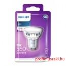 Philips PHILIPS Consumer LEDCLassic spot 5W 830 GU10 120D FR ND GU10 Spot tű foglalat